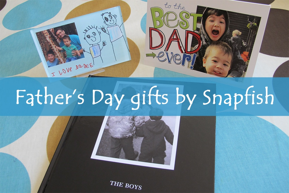 Father's Day Gift ideas with Snapfish