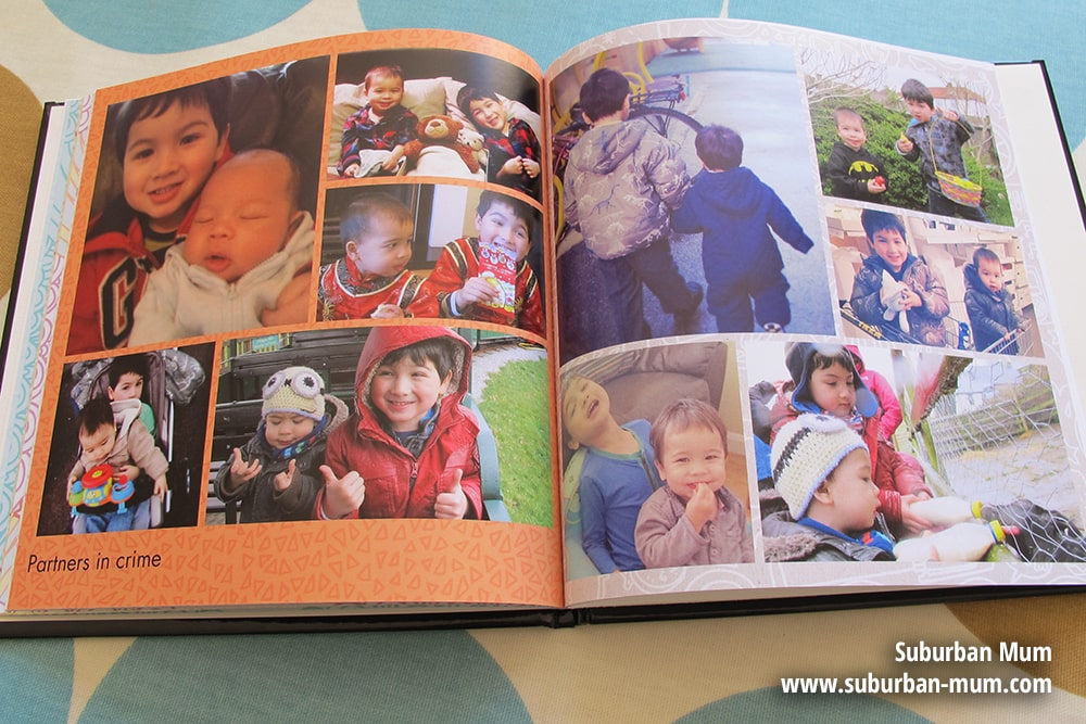 Snapfish custom cover photo book