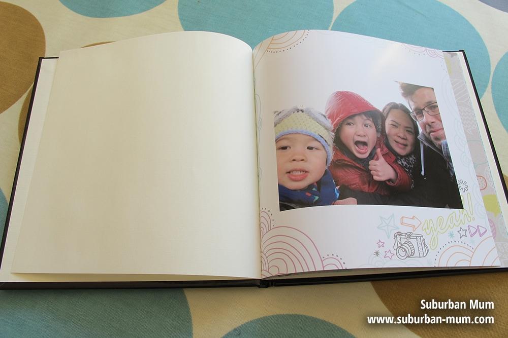 Snapfish custom cover photo book