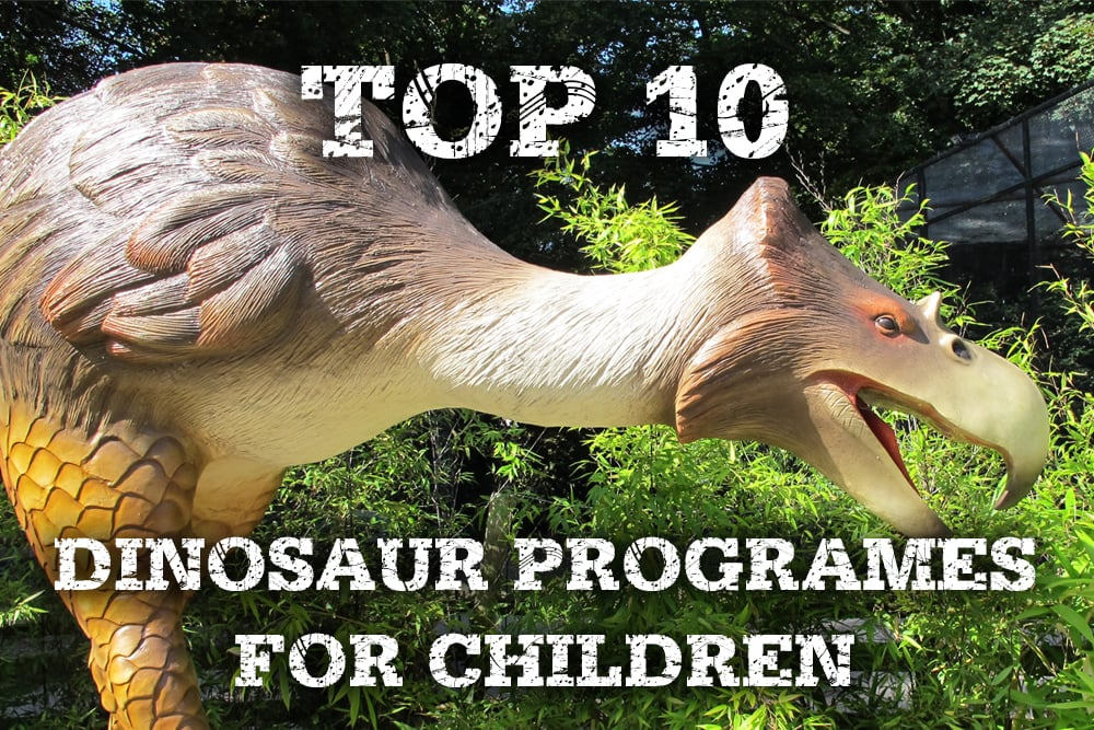 Top 10 dinosaur programmes for children