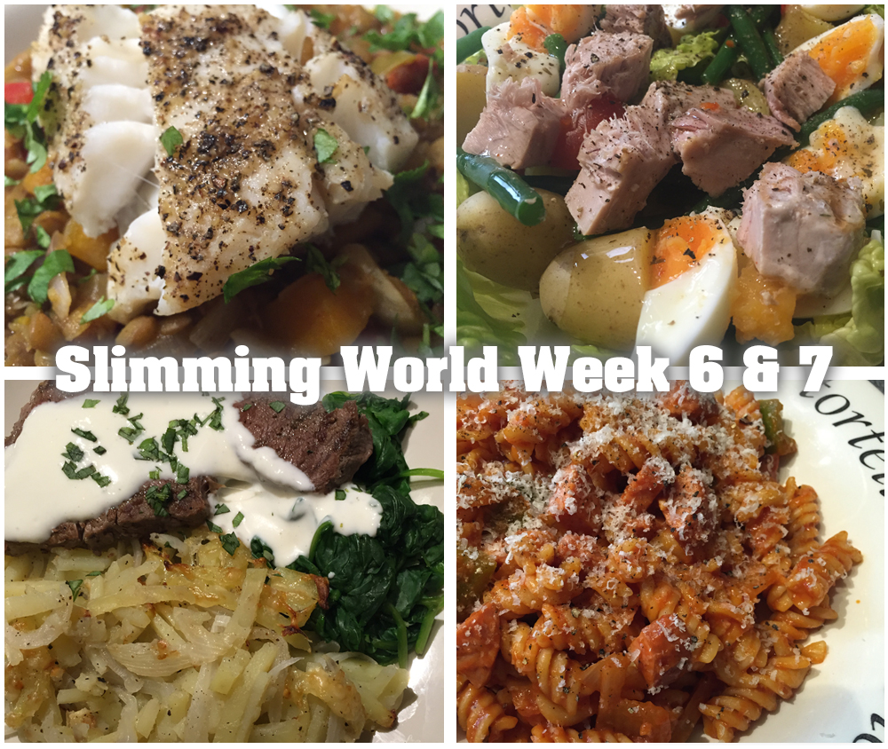 Slimming World weeks 6 and 7
