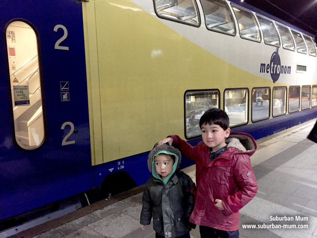 Hamburg Double Decker Train