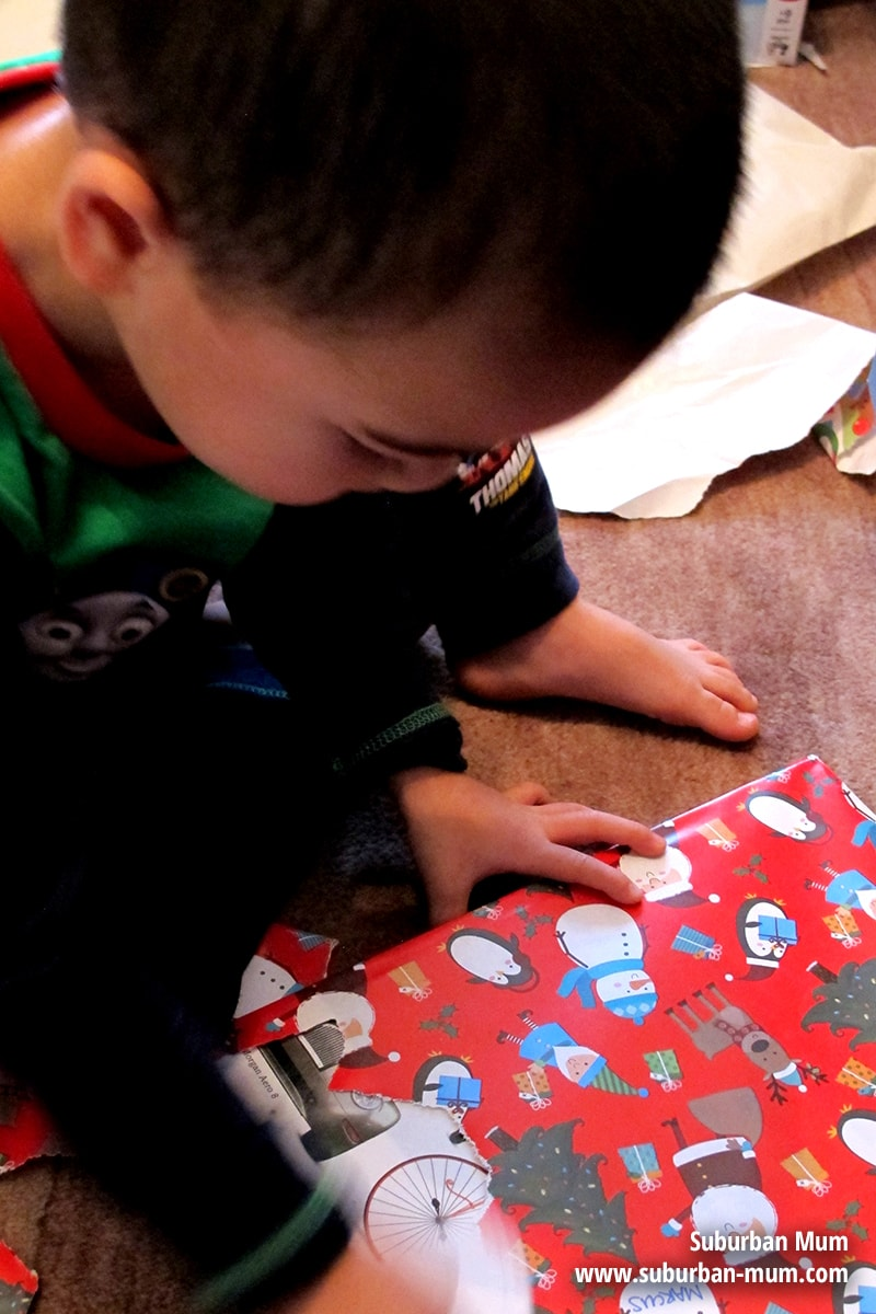 Our Favourite Five - December: opening presents