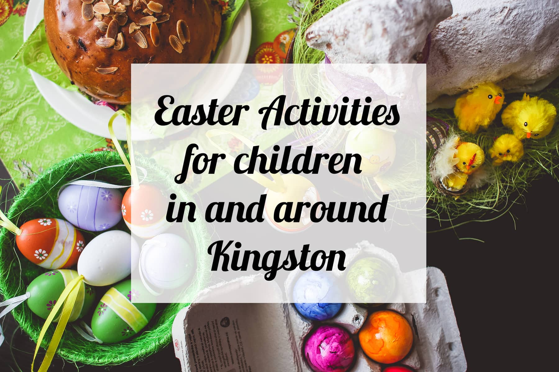 Easter Activities for children in and around Kingston