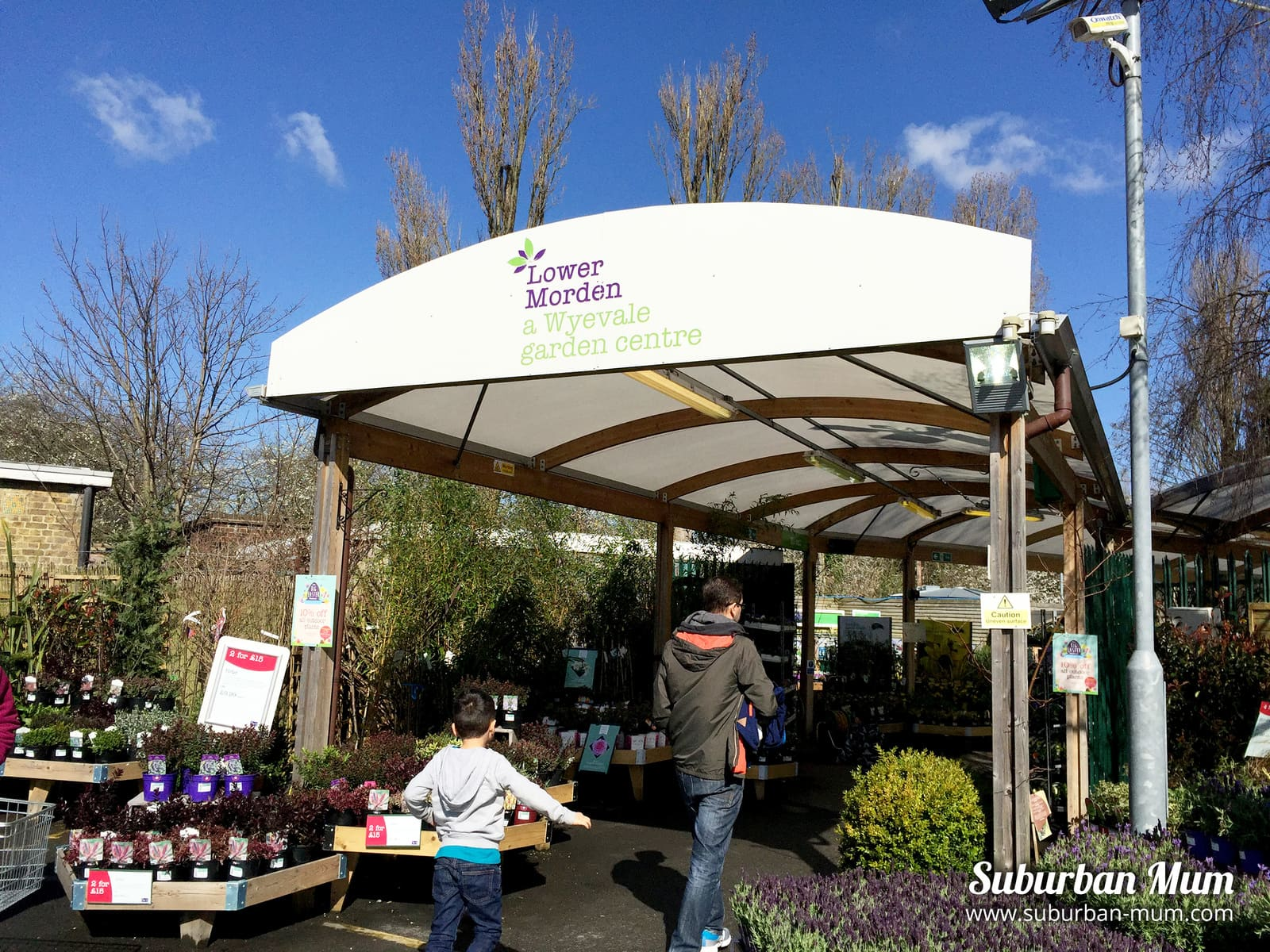 Suburban Mum Breakfast With The Easter Bunny At Wyevale Garden