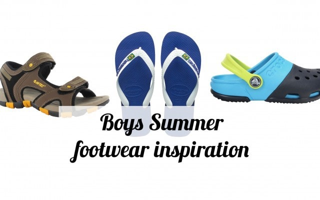 Boys Summer footwear inspiration