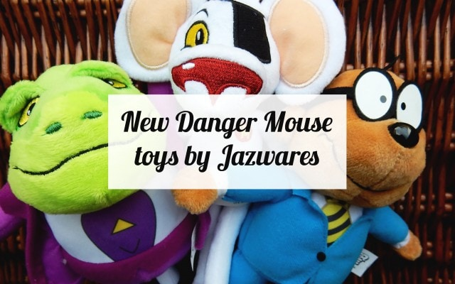 New Danger Mouse toys by Jazwares