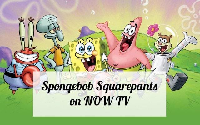 spongebob-on-nowtv