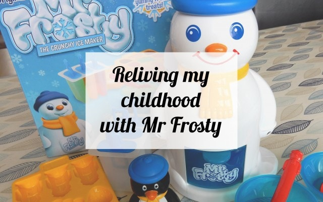 Reliving my childhood with Mr Frosty