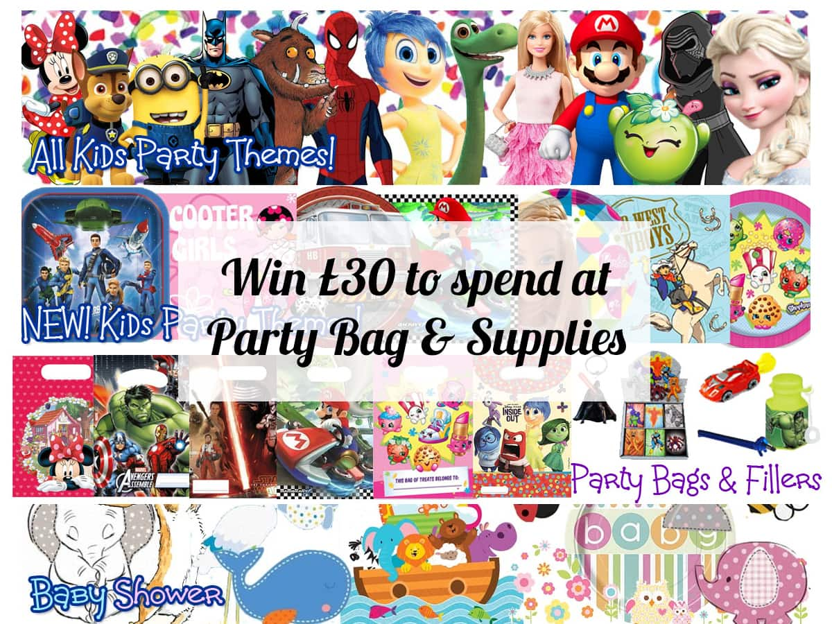 Win £30 to spend at Party Bag & Supplies