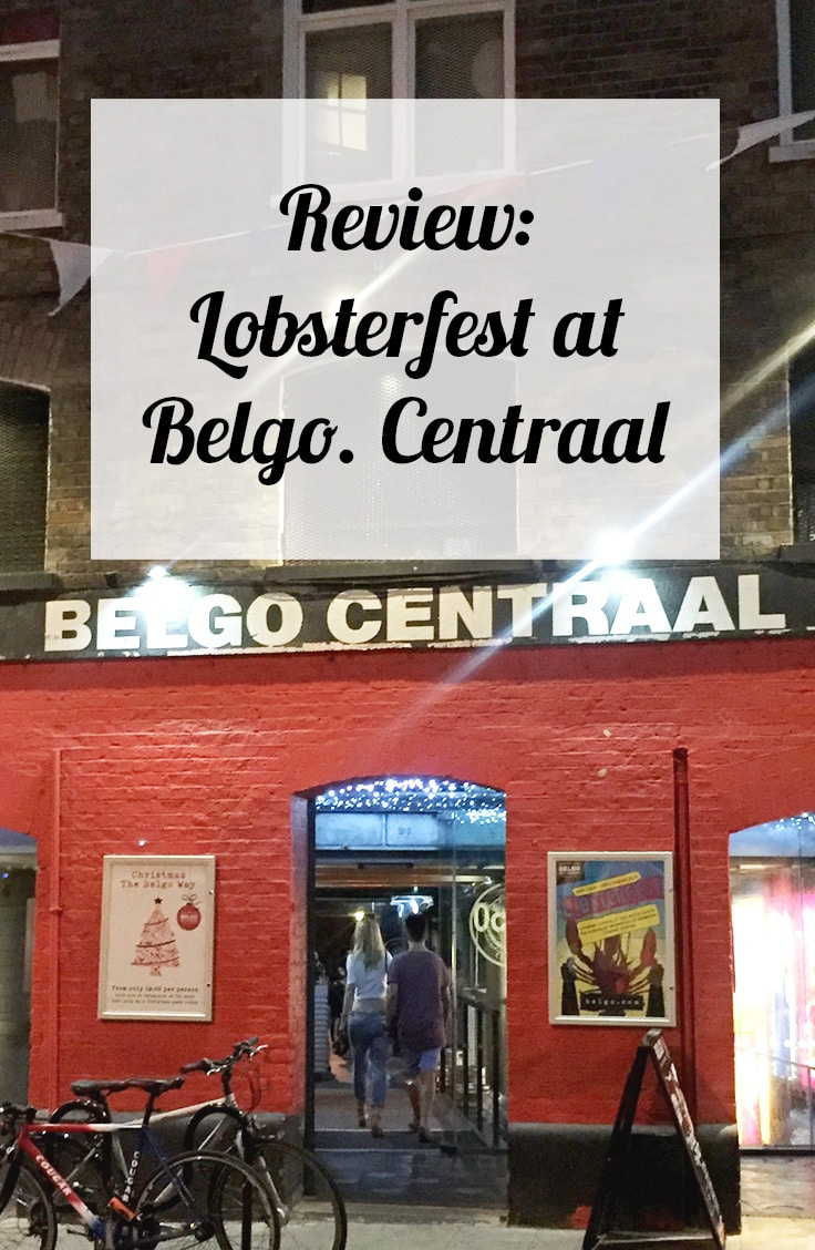 Review: Lobsterfest at Belgo Centraal