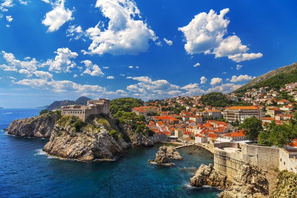 General view of Dubrovnik
