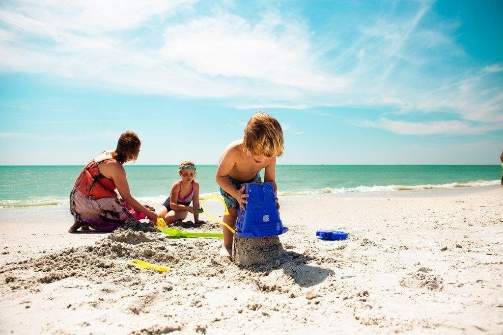children on holiday