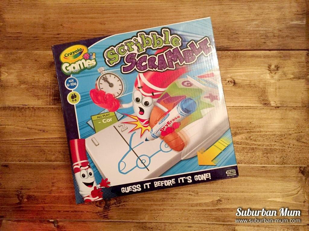 Crayola Games Scribble Scramble