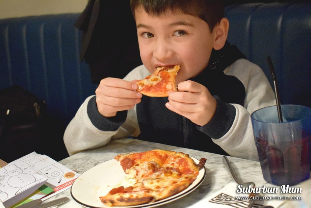 Winter specials at Pizza Express