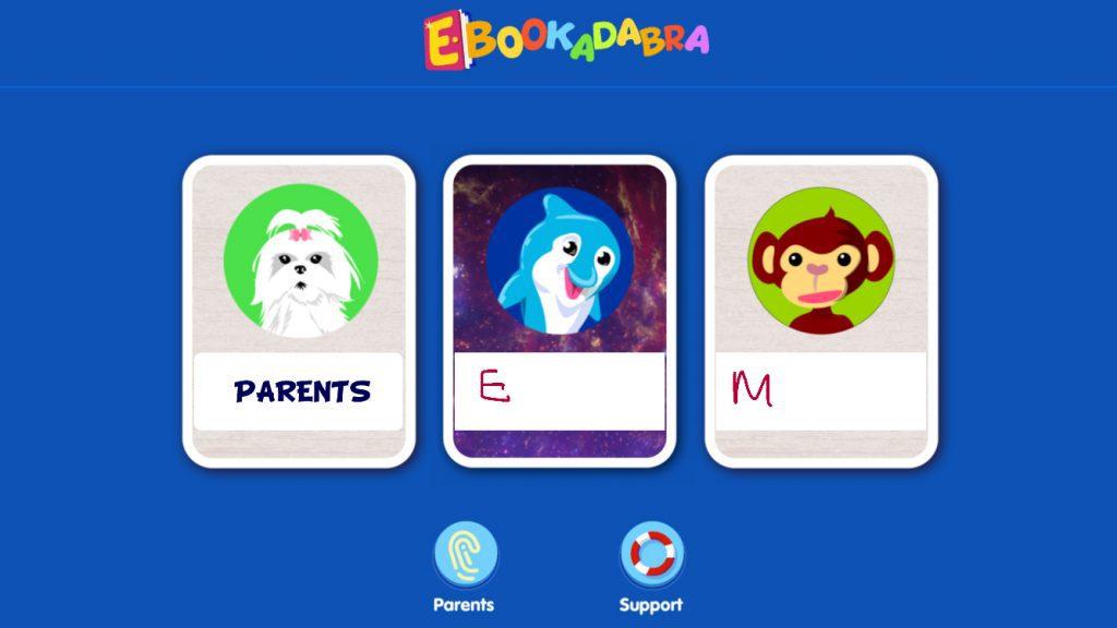 ebookadabra-multiple-profiles