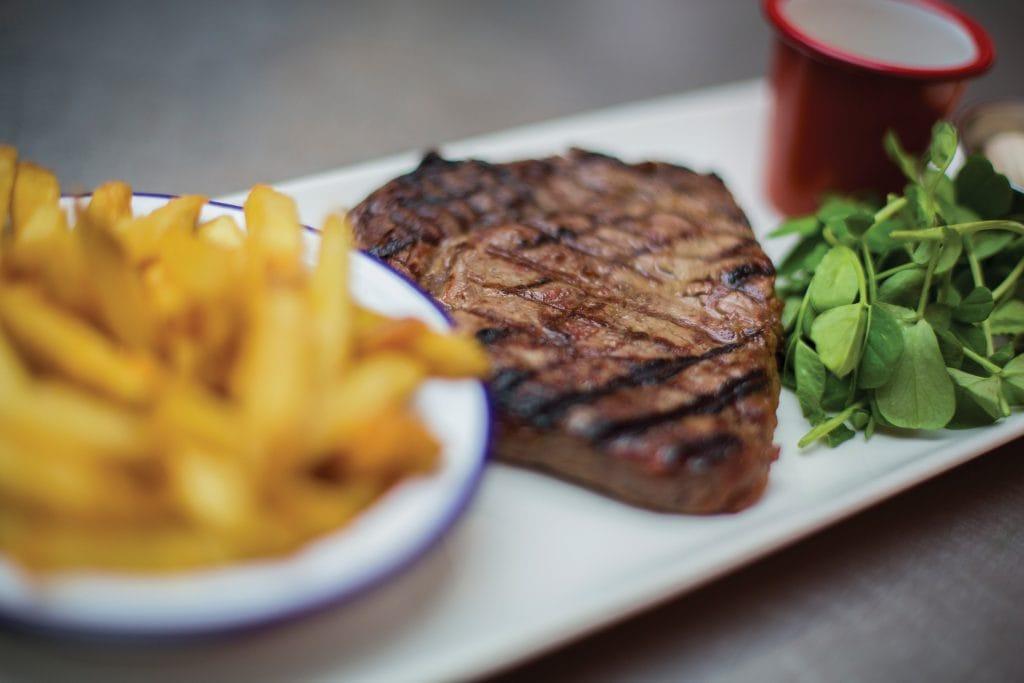 Steak at Belgo