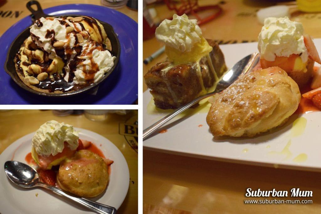 Bubba Gump desserts