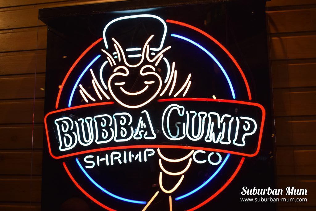 Bubba Gump Shrimp, London review