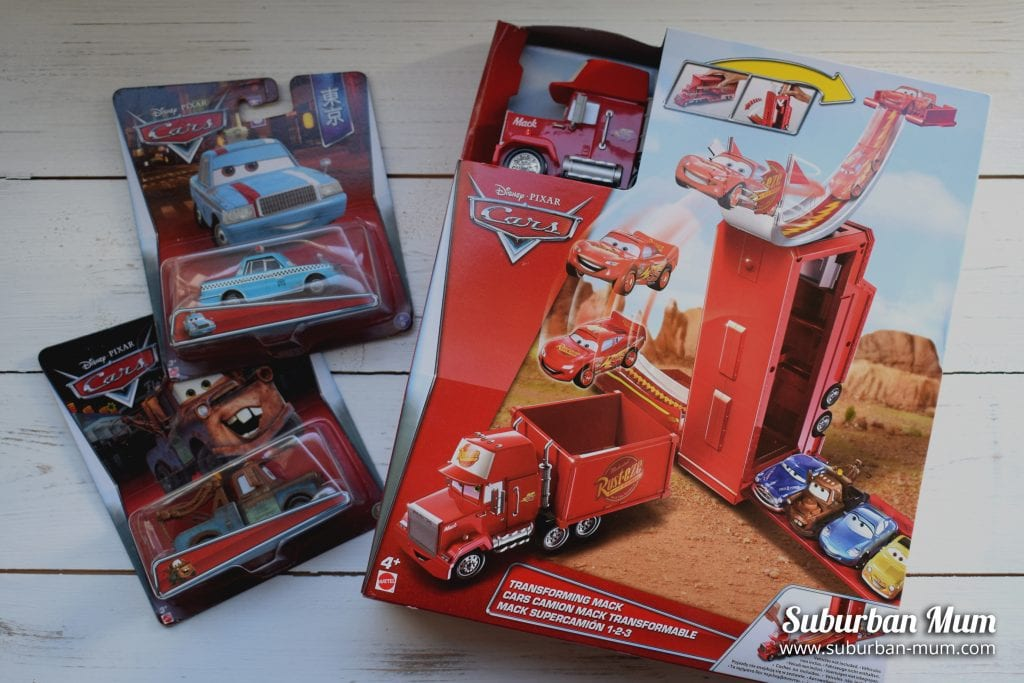 Disney Pixar Cars Mack Playset