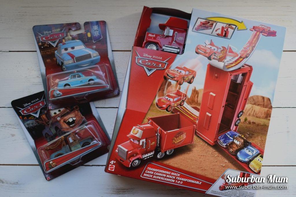 Disney Pixar Cars Mack Playset