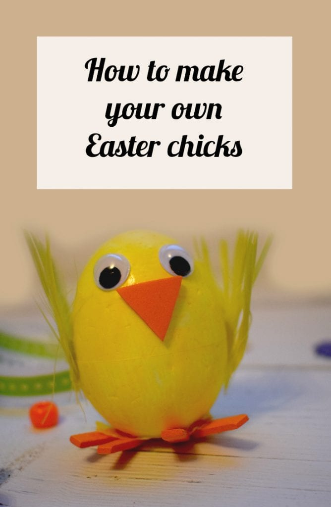 How to make your own Easter chicks