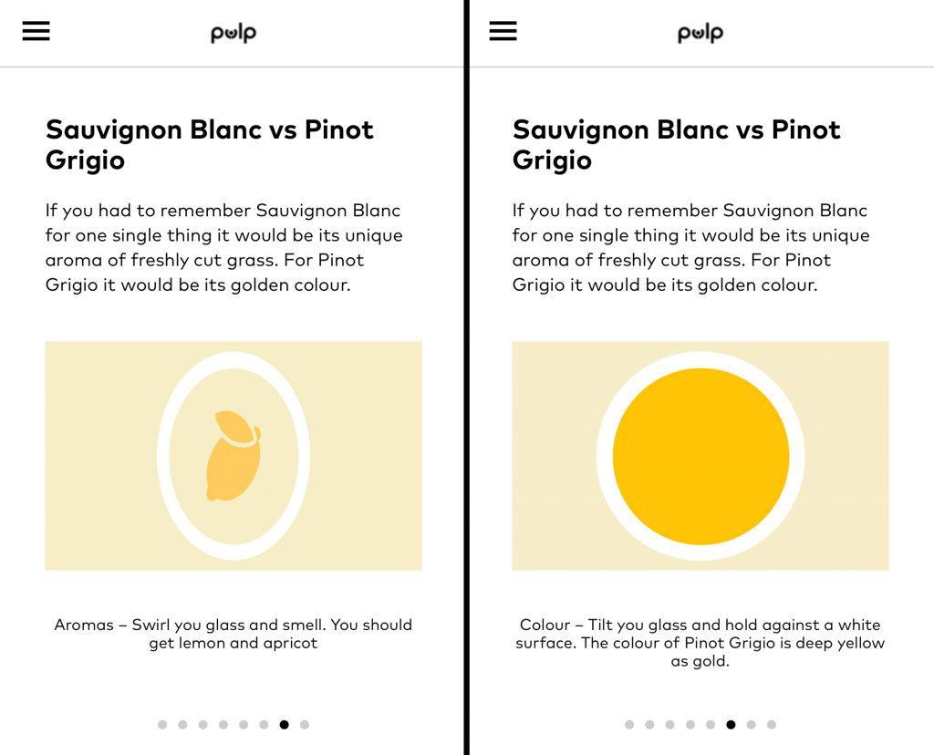 Pulp Wine online tasting lessons