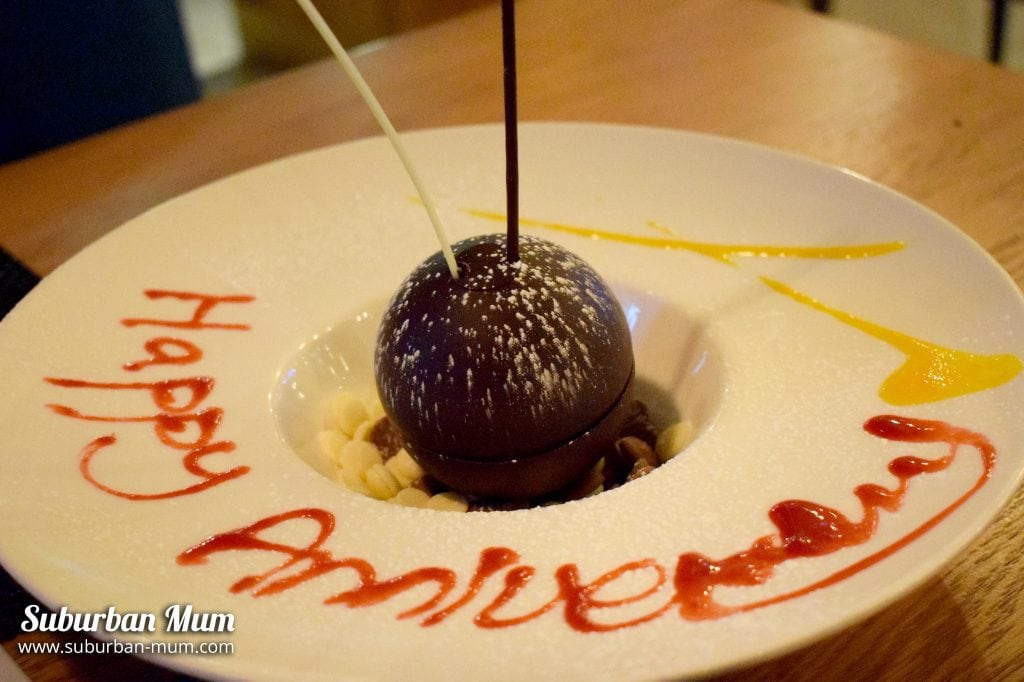 Chocolate sphere   Chi Kitchen