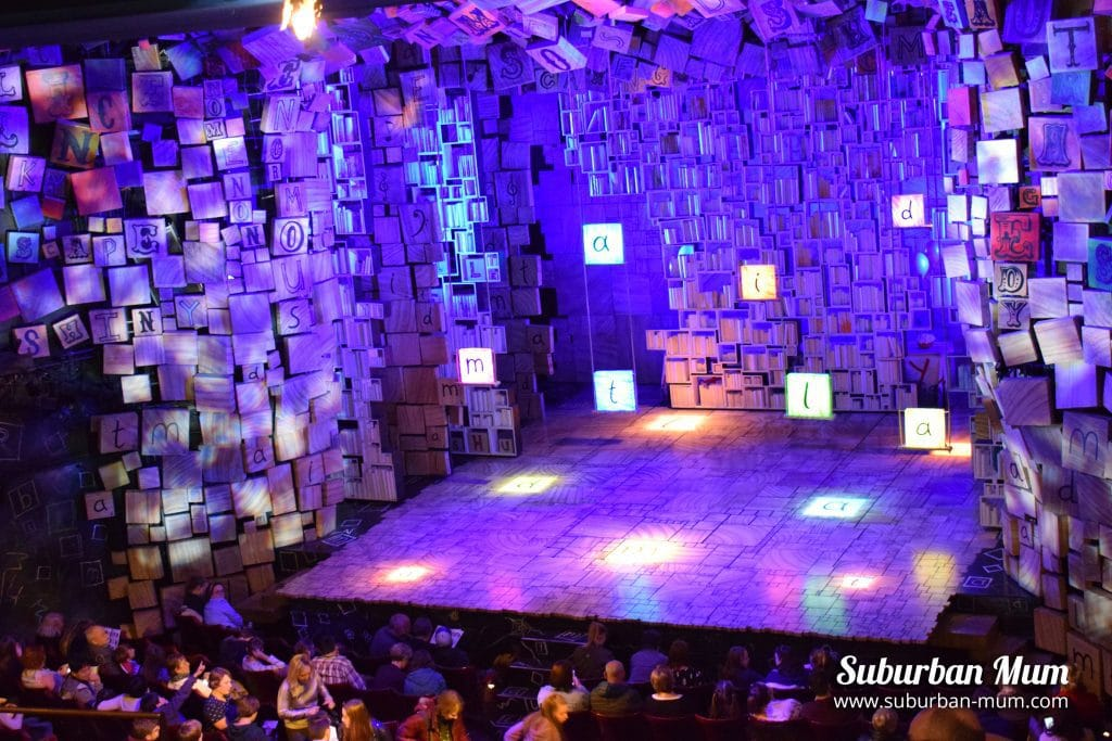 Matilda The Musical, stage