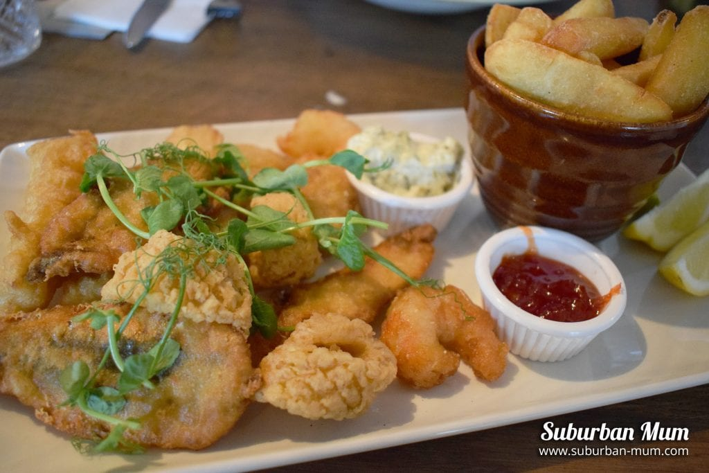 Fritto misto - The Thames Court, Shepperton