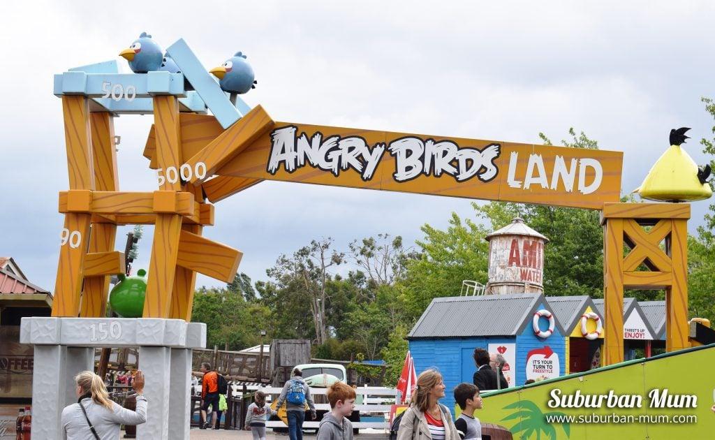 Angry Birds Land, Thorpe Park