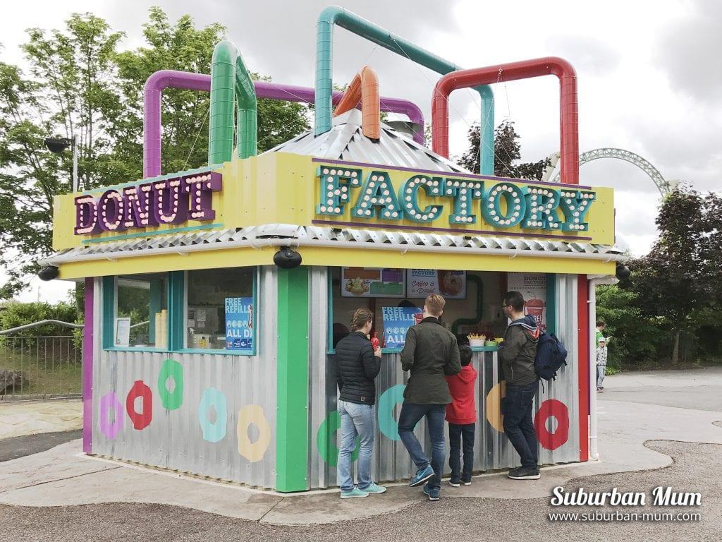 Donut Factory, Thorpe Park