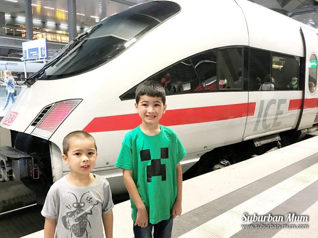 Hamburg ICE Train