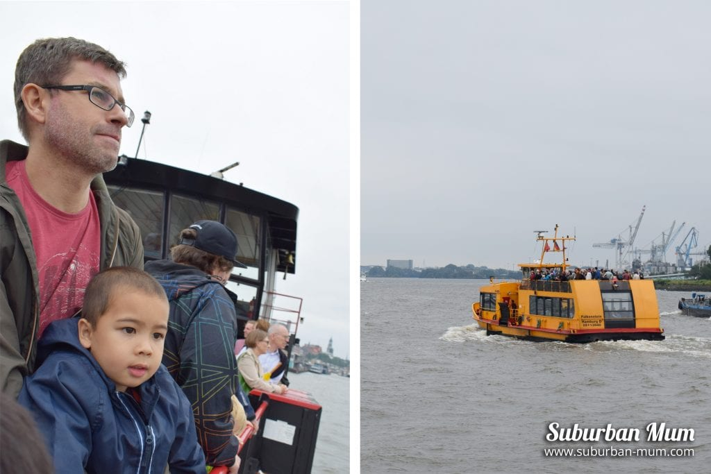 Hamburg by Ferry