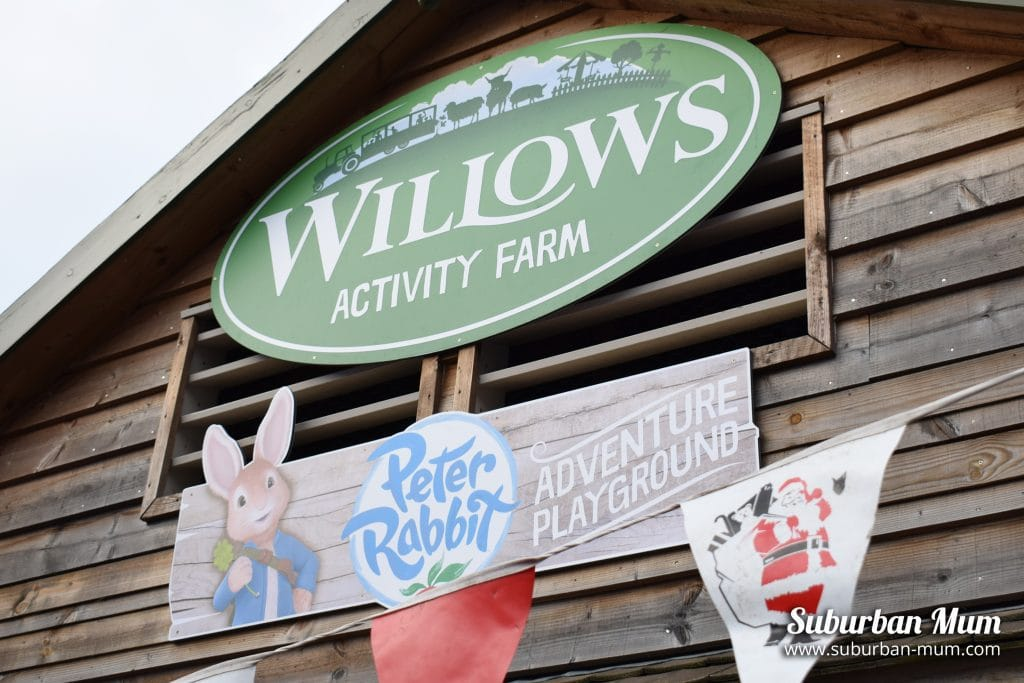 Christmas activities at Willows Farm