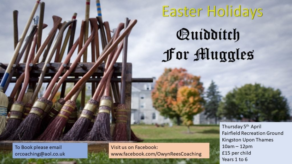 Kingston Easter Quidditch