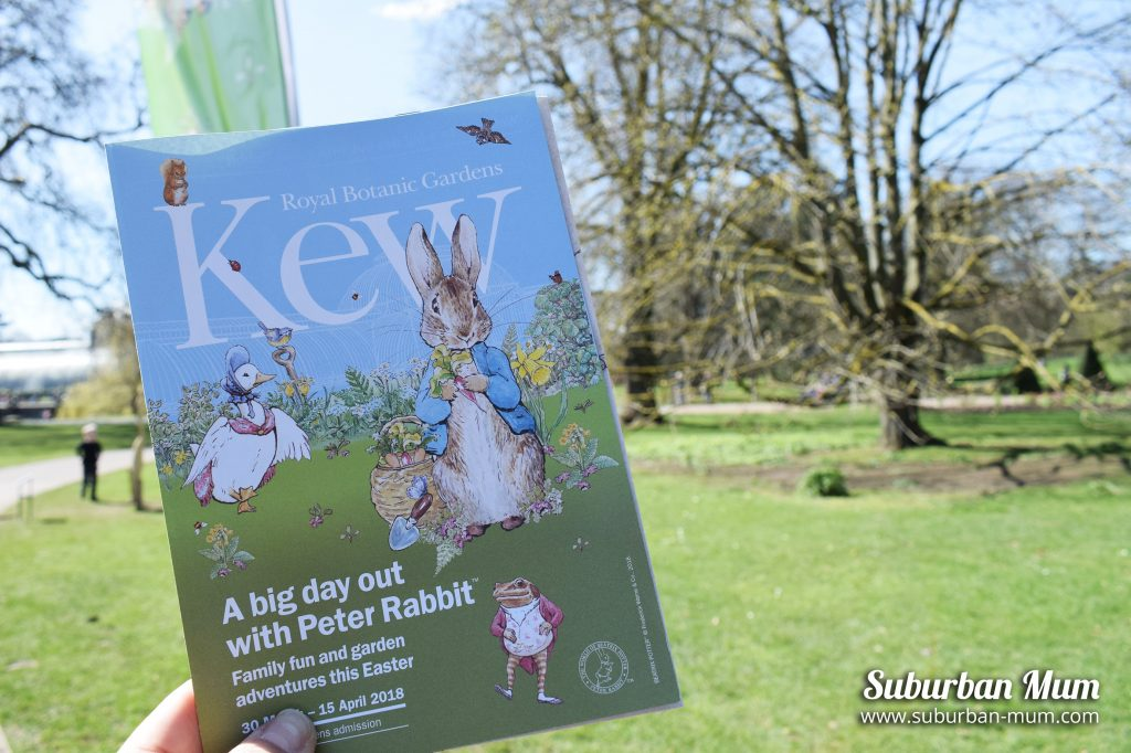 Day Out with Peter Rabbit at Kew Gardens