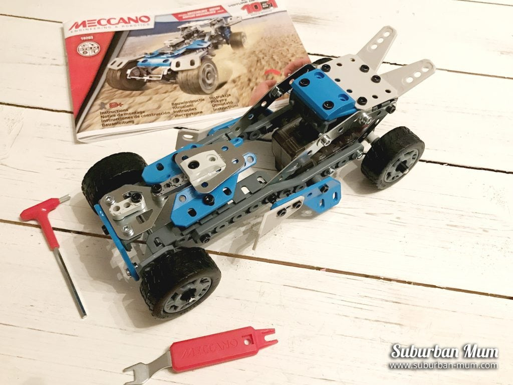 meccano-rally-racer-model