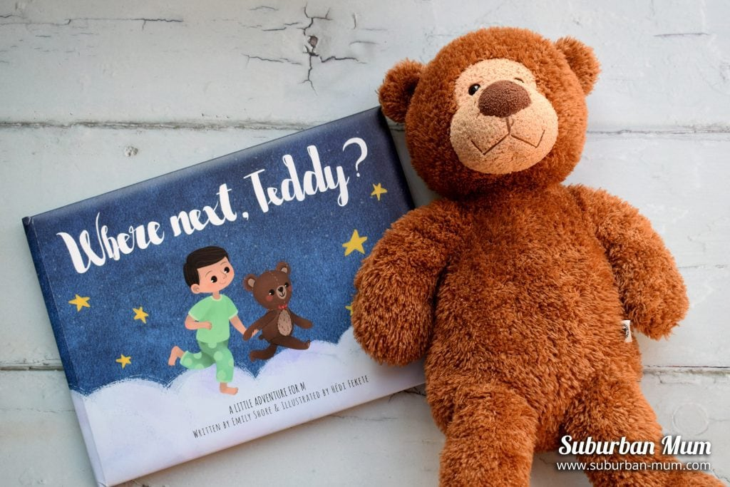 Where next, Teddy? Personalised children's book