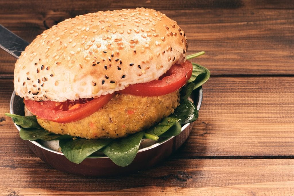 chickpea-burger