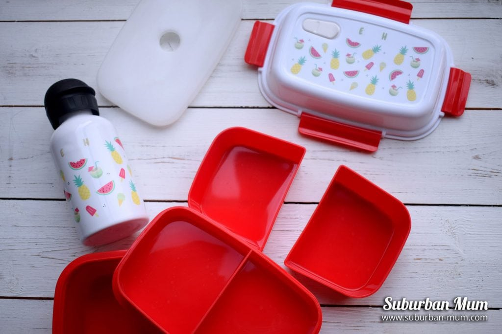 customisable lunch boxes