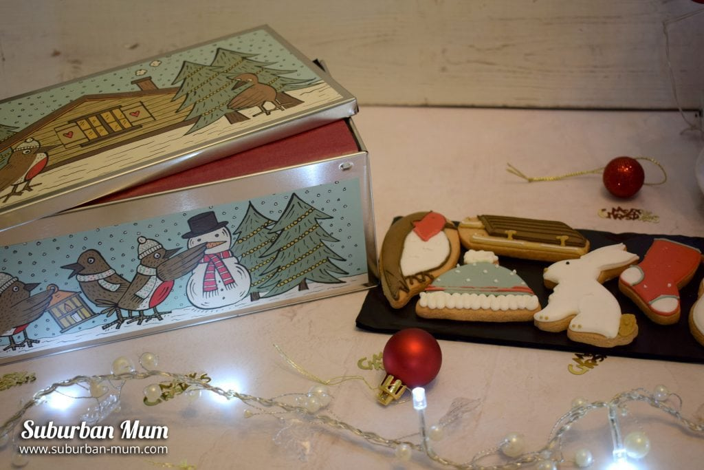Biscuiteers Winter Wonderland Luxe Biscuit Tin