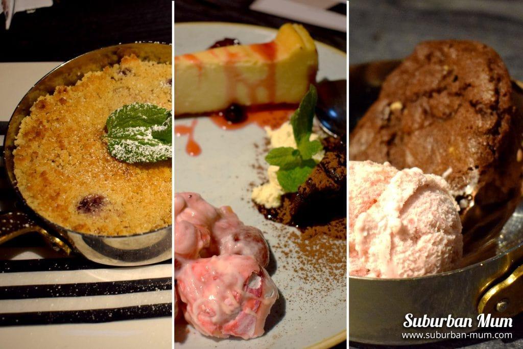The Spring Tavern, Ewell - desserts
