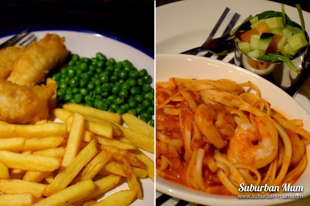 The Spring Tavern, Ewell - Kids meals