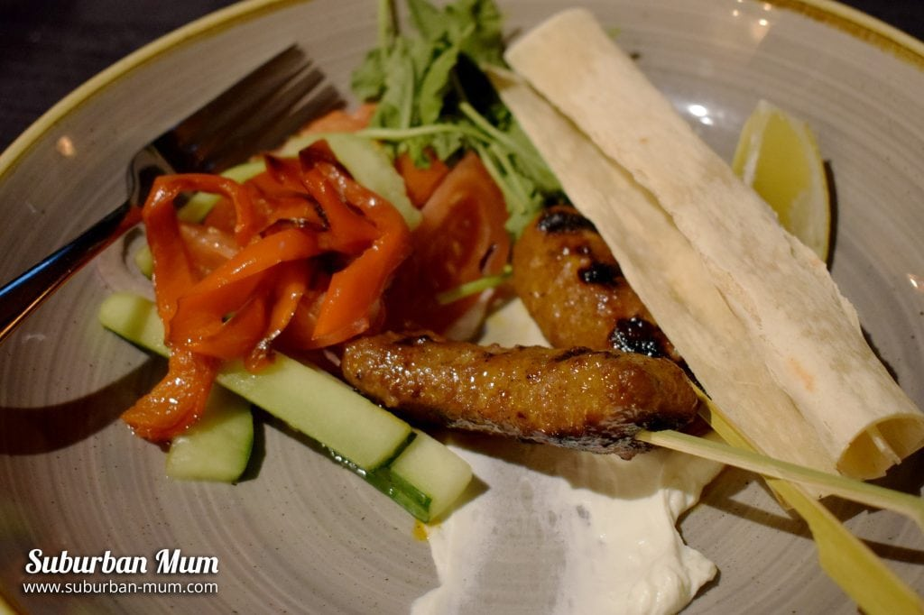 The Spring Tavern, Ewell - Chargilled Lamb Koftas