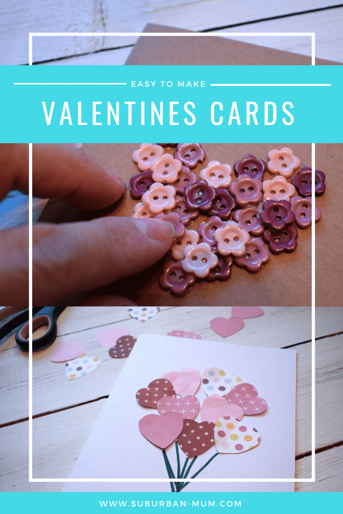 Easy to make Valentine's Cards with Bostik. Two simple but effective ways to create your own Valentine's Card
