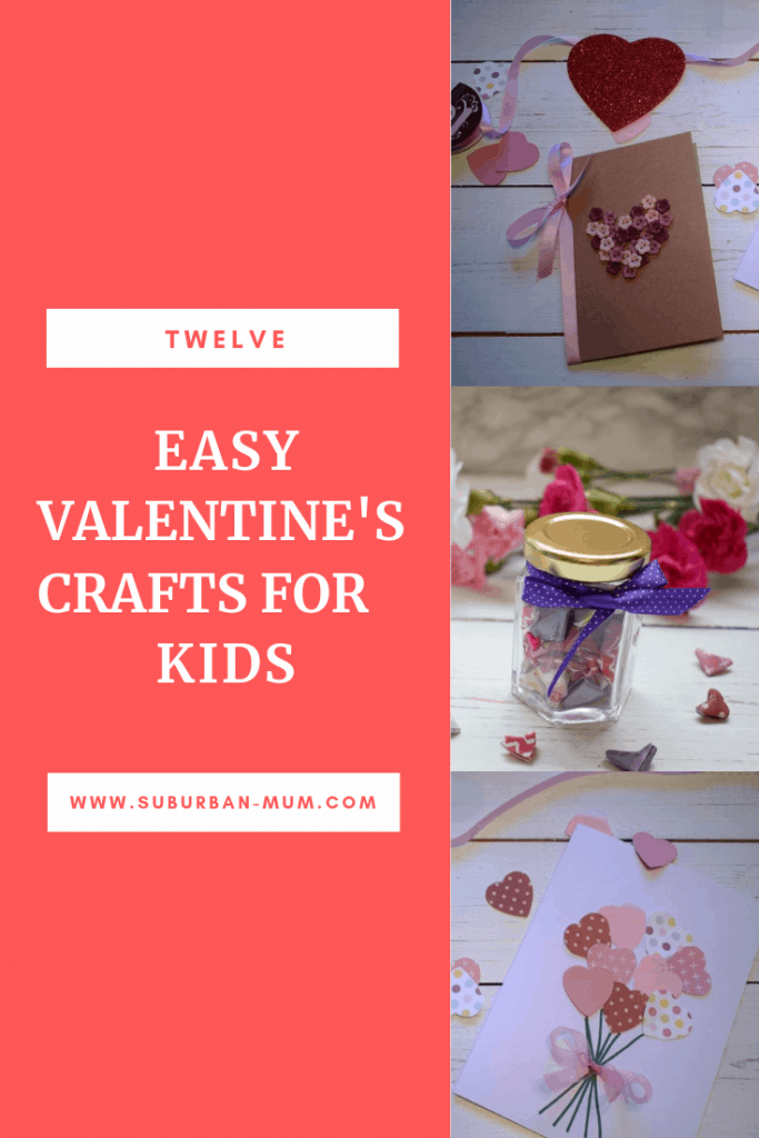 12 Easy Valentine's Crafts for Kids