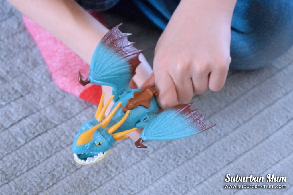 How to Train Your Dragon - Stormfly dragon figure