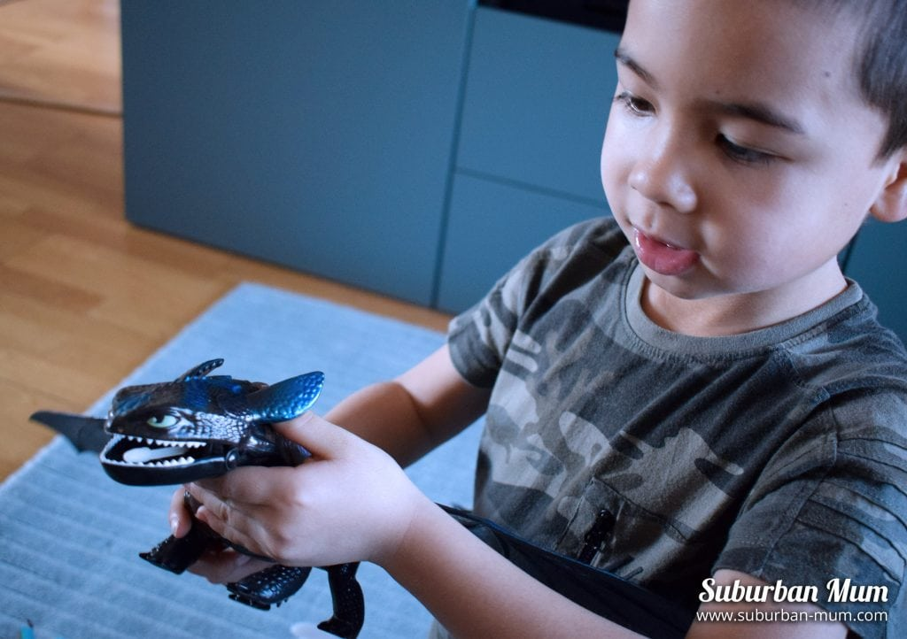 How to Train Your Dragon - Toothless Toy figure