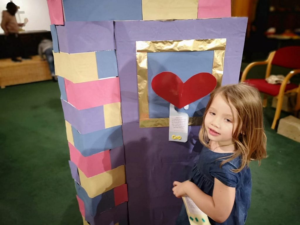 Valentines Door craft